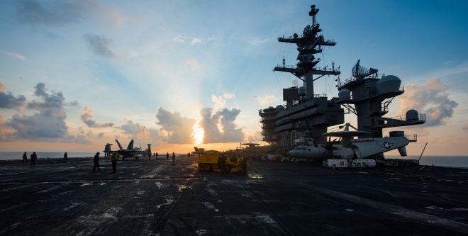 SECDEF Mattis: 'No Specific Demand Signal' Prompted Vinson Carrier Strike Group Move