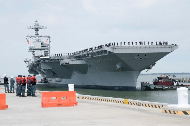 Carrier Gerald R. Ford Completes Builder's Trials, Prepares For Acceptance Trials, Delivery 'This Spring'