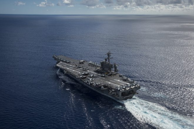 PACOM: Carl Vinson CSG Can Defend Itself Against Anything North Korea Fires At It