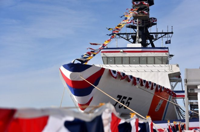 Video: Coast Guard Commissions National Security Cutter Munro