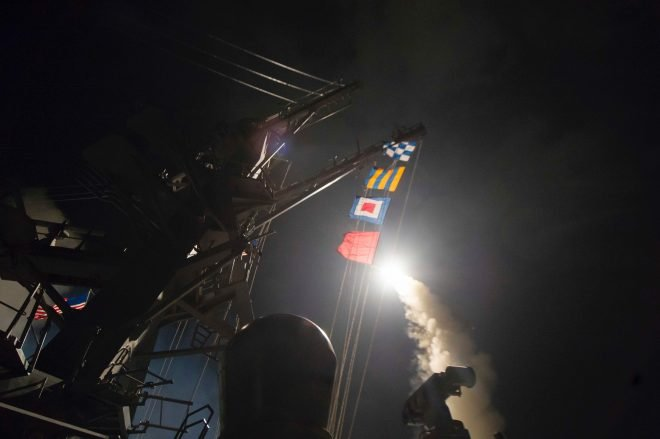 CRS Legal Sidebar: Was U.S. Strike on Syrian Airbase Legal?