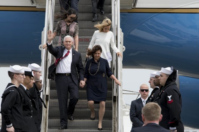Video: Vice President Mike Pence Speaks on USS Ronald Reagan