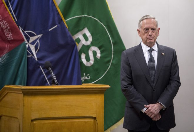 SECDEF Mattis Predicts An Extended Fight in Afghanistan