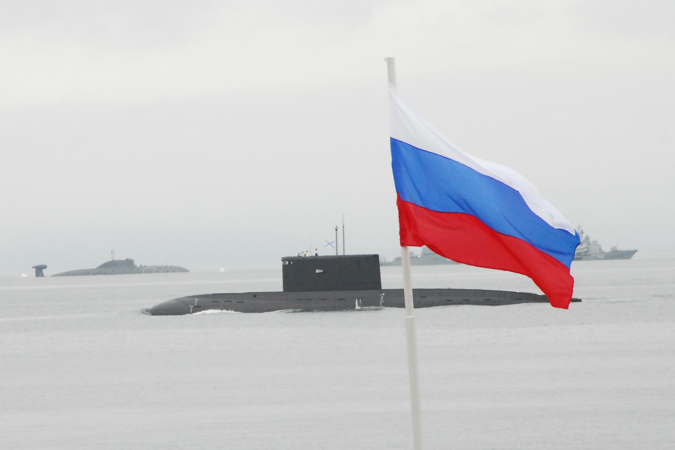 Russian Navy Flags Russian