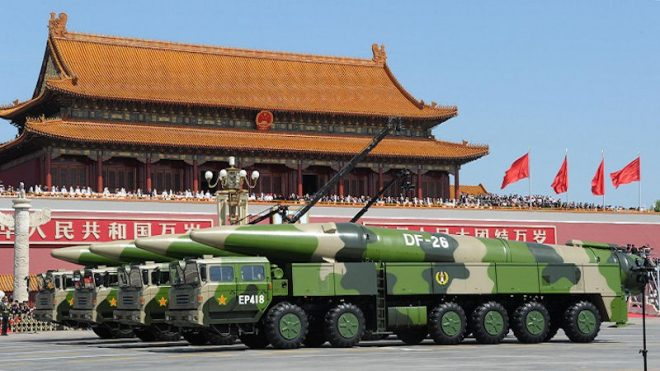 PACOM: U.S. Should Renegotiate INF Missile Treaty to Better Compete with China