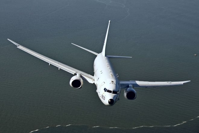 Reports: Russian Fighter Conducts 'Unprofessional' Intercept of U.S. Navy P-8A Over Baltic