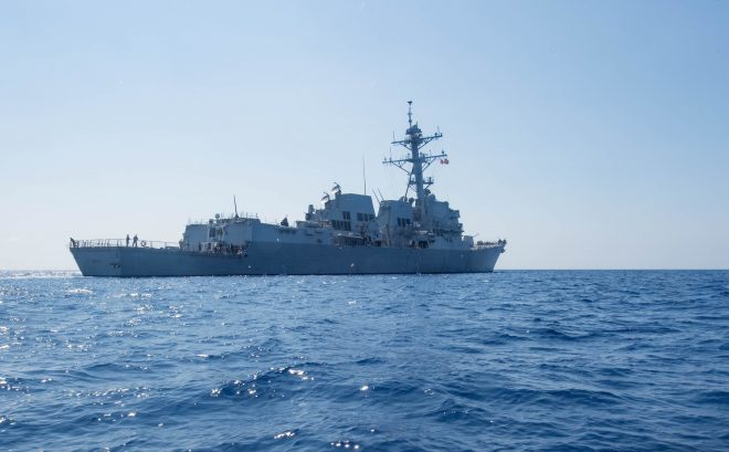 U.S. Warship Came Within 6 Miles of Chinese Artificial Island in Toughest Challenge Yet to Beijing South China Sea Claims