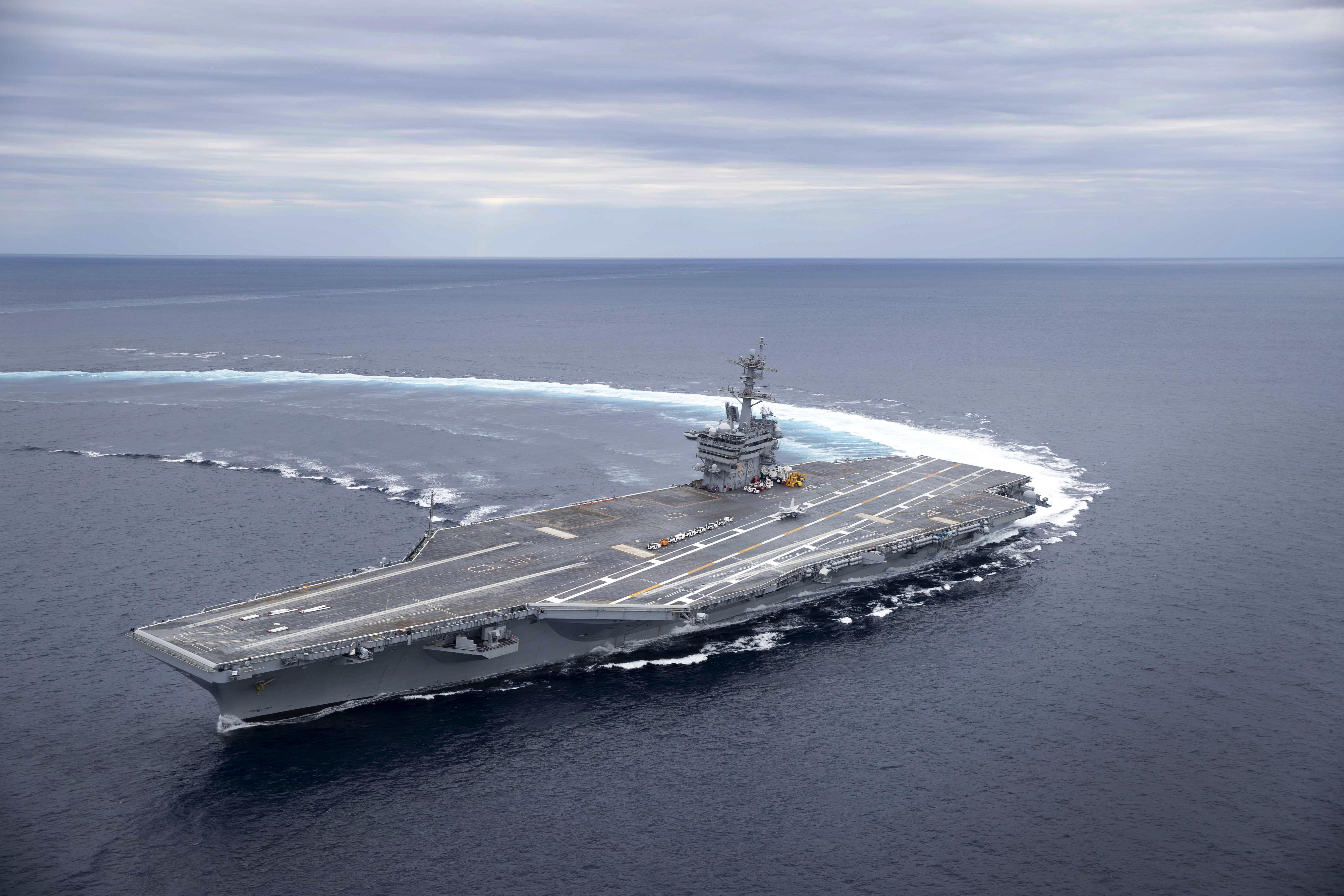 Navy Moves Carrier Uss Abraham Lincoln 4 More Ships For