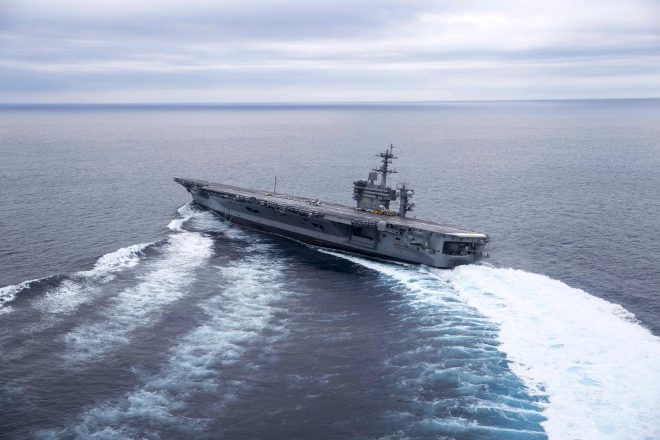 Carrier Lincoln Redelivers to the Navy After 4-Year Refueling and Complex Overhaul