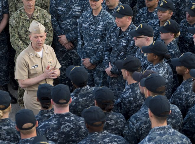 CNO Richardson: Navy Must Take Steps Now To Grow, Improve Fleet