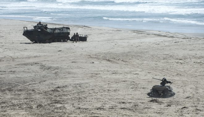 Services Demo Melding Marines and Machines to Maintain Maneuver Advantage in the Littorals