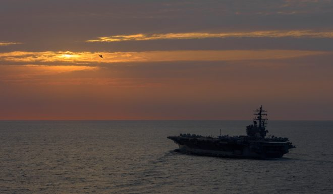 U.S. Conducting Dual Carrier-Ops Off Korean Peninsula Amidst Chinese Concern