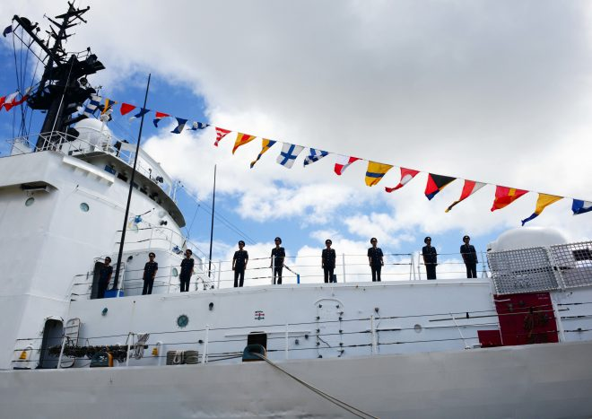 Former U.S. Cutter Morgenthau Transferred to Vietnamese Coast Guard