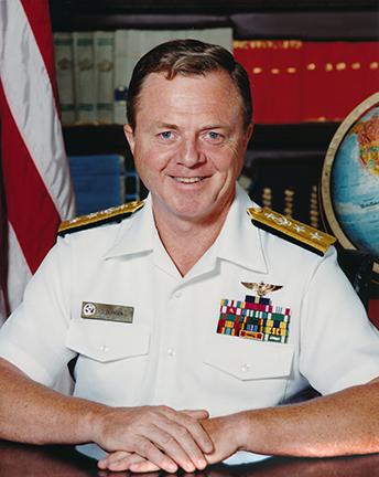 Rear Admiral Harold J Bernsen
