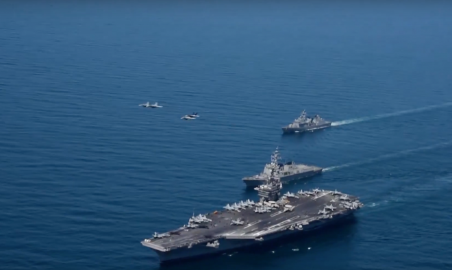 Video: USS Carl Vinson Operates with Republic of Korea Navy