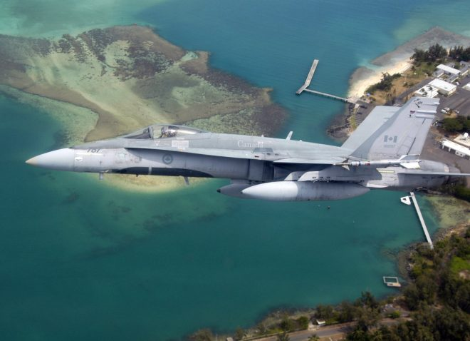 Congress Notified of Potential $5.23B Super Hornet Sale to Canada While F-35 Questions Remain