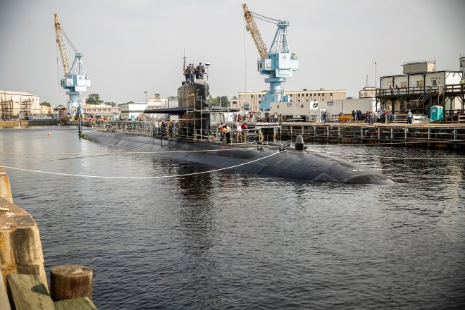 GAO Report on U.S. Attack Submarine Maintenance Backlog