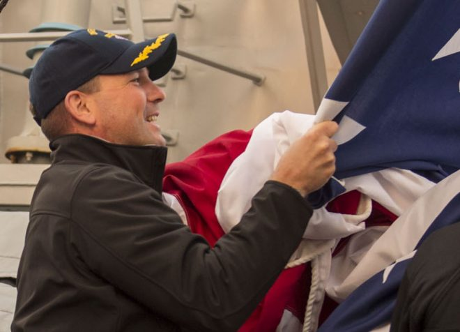 Former USS Fitzgerald CO Benson to Retire as Commander Next Month