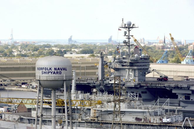 Navy Planning Public Shipyard Overhauls To Boost Efficiency, Replacing Aging Drydocks