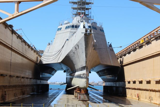 Senators Limited Littoral Combat Ship Program to 1 Hull in 2018 After 'Compelling' Testimony by Acting SECNAV Stackley
