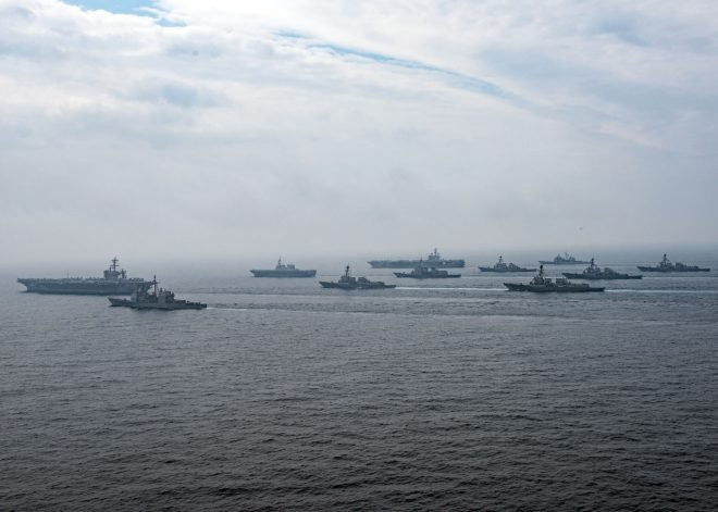 Video: U.S. Dual-Carrier Operations in the Sea of Japan, with Japan Maritime Self Defense Force