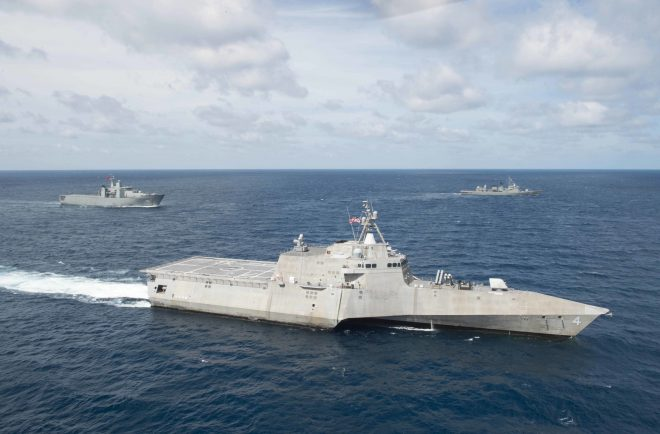 Interview: Plans For 2 Littoral Combat Ships in Singapore, 1 in Bahrain in 2018 Shaped By Lessons Learned