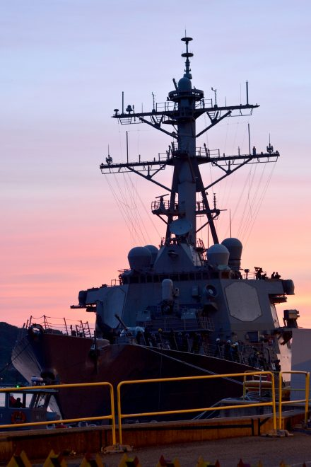 Stricken Destroyer USS Fitzgerald to be Repaired at Huntington Ingalls Industries' Gulf Coast Shipyard