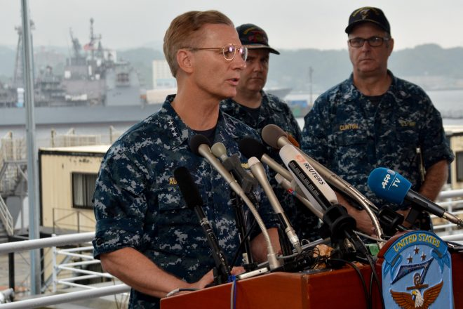 7th Fleet Overworked, Suffered Manning Shortage Ahead of Fatal Collisions, Says Former CO Aucoin