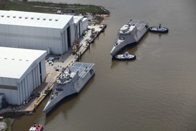 Navy Awards 1 Littoral Combat Ship to Austal; Still Negotiating With Lockheed Martin