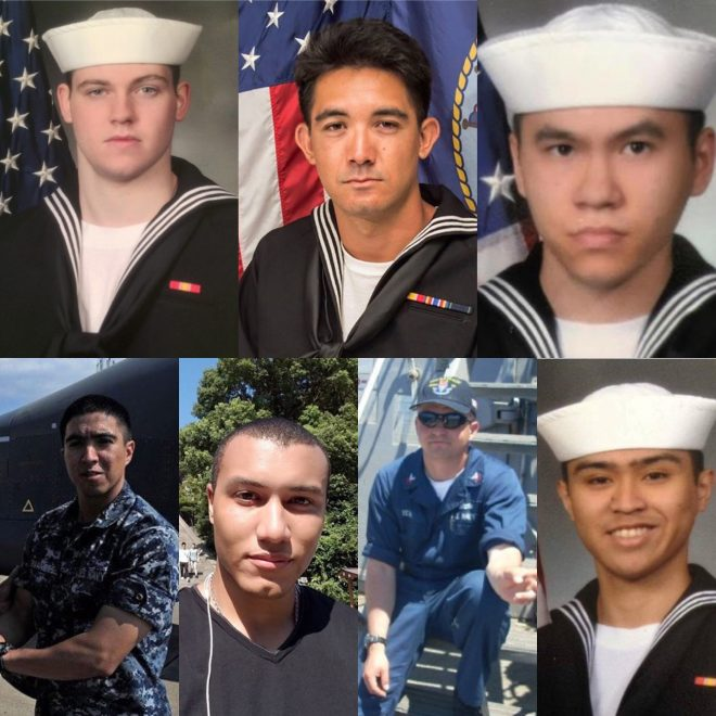 7 Sailors Lost on USS Fitzgerald Represent Cross Section of Americans