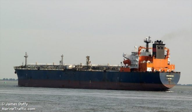 Pentagon: Oil Tanker Hit by 3 RPGs Near Yemen in the Bab el-Mandeb Strait
