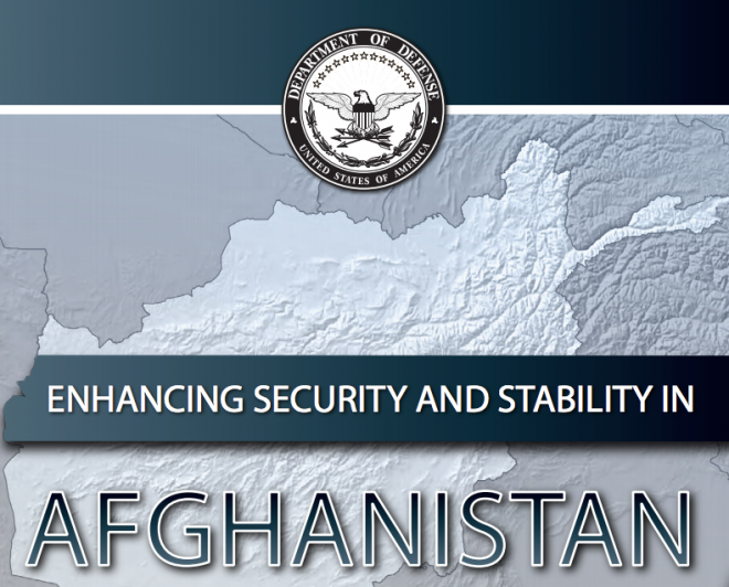 Document: Pentagon Report on Enhancing Security and Stability in Afghanistan