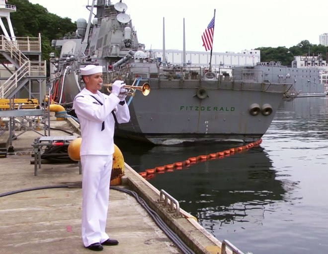 VIDEO: Navy Honors the 7 Sailors Who Died on USS Fitzgerald