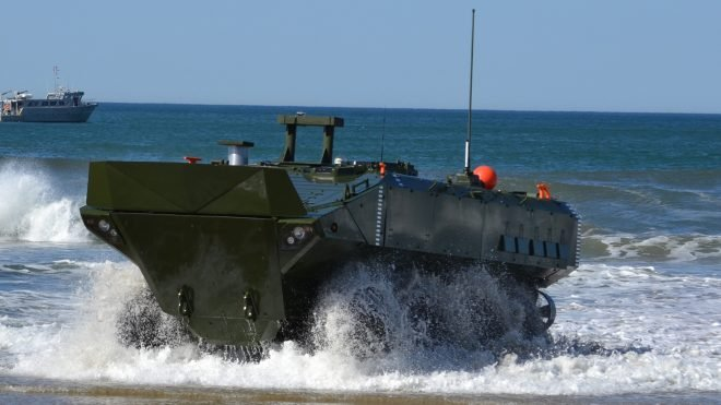 Marines: Amphibious Combat Vehicle Testing Going Well After Delay; On Track To Support June 2018 Downselect