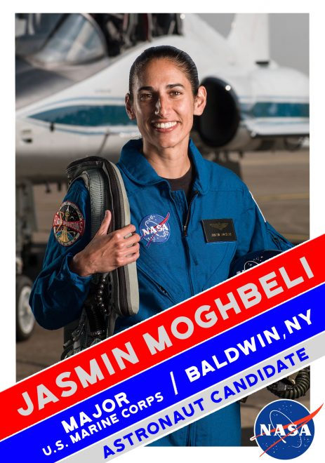 Marine Maj. Jasmin Moghbeli Selected as NASA Astronaut Candidate, Fulfilling Childhood Dream