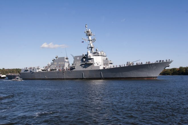 Second Arleigh Burke Restart Destroyer Rafael Peralta to Commission on Saturday