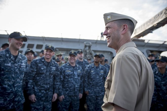 CNO: Navy to Restore Readiness Levels by 2022 After Years of Insufficient Funding