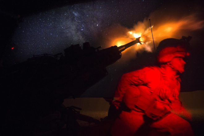 Senators Quiz Military Leaders on U.S. Forces in Syria after ISIS
