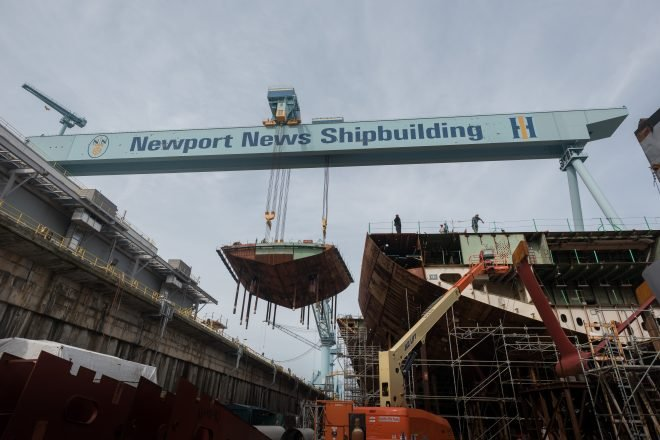 Price Hikes, Production Delays Mark Navy Shipbuilding for Past Decade
