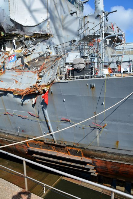 Repair for USS Fitzgerald After Collision Will Cost More Than Fix to USS Cole After Terror Attack