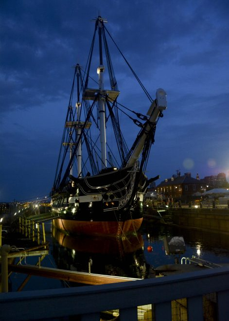220 Year-Old USS Constitution Leaves Dry Dock Following Two-Years of Repairs