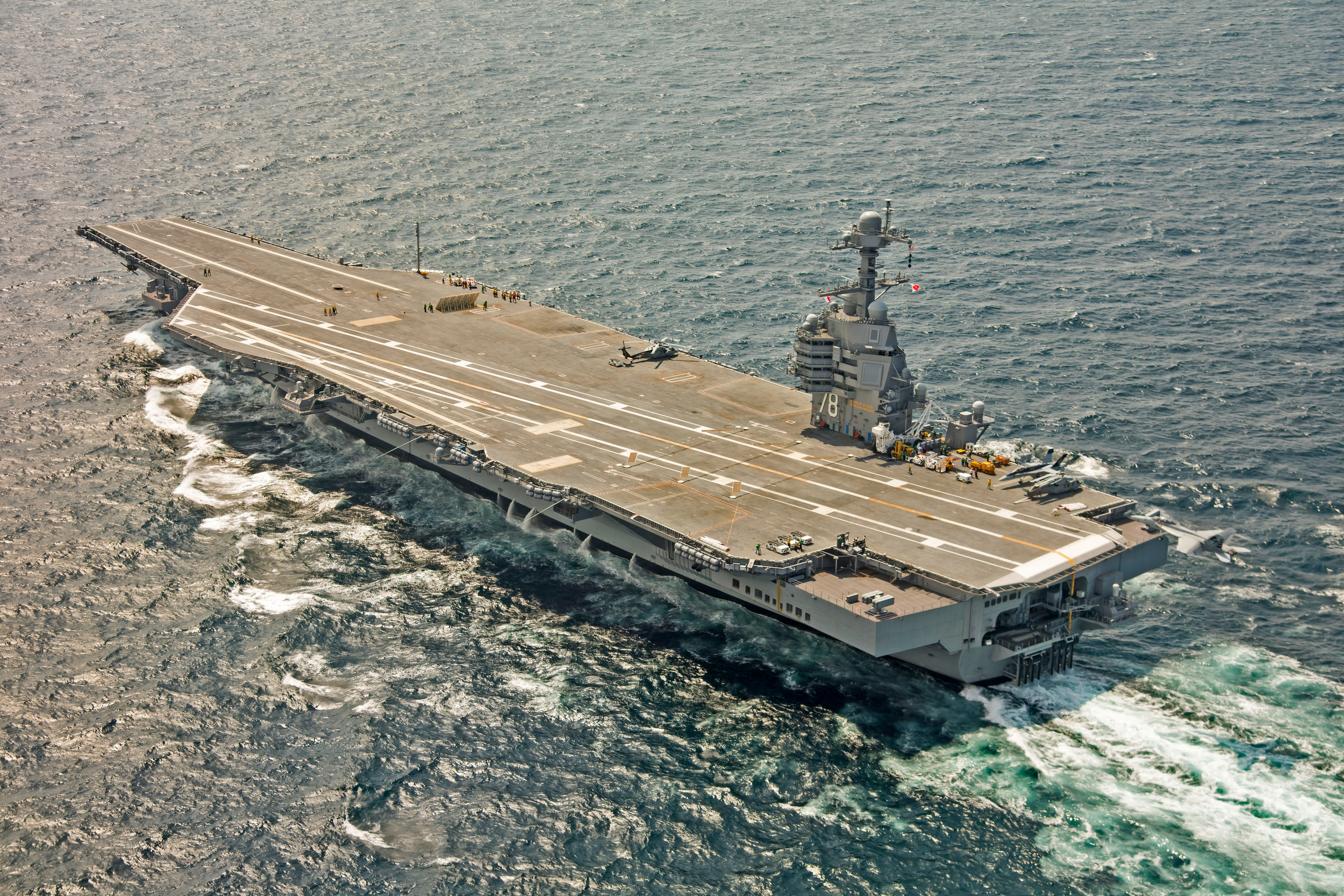 Wonderful USS Gerald Ford Delivery Delayed Due To Extensive Nuclear Propulsion,  Weapons Elevator Repairs; Carrier Wonu0027t Be Ready Until October