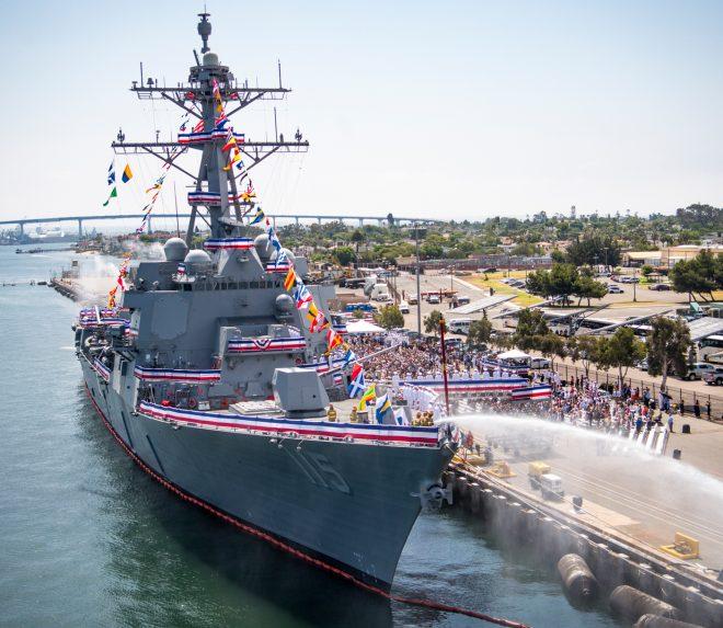 VIDEO: USS Rafael Peralta Commissioning Ceremony