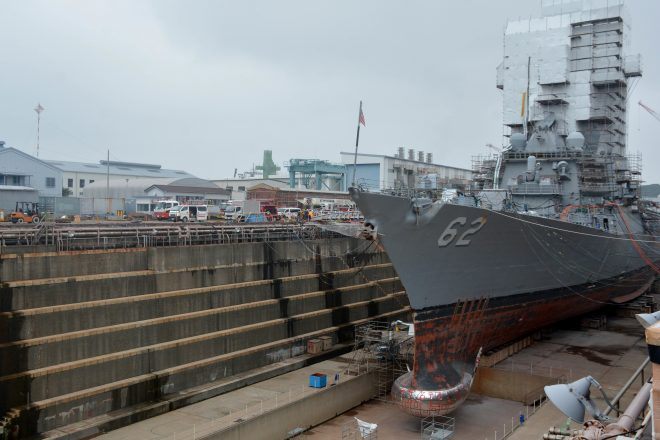 Fleet Forces: Maintenance Load In Yokosuka Increasing; Effect on Fleet is Clear, Solution is Not
