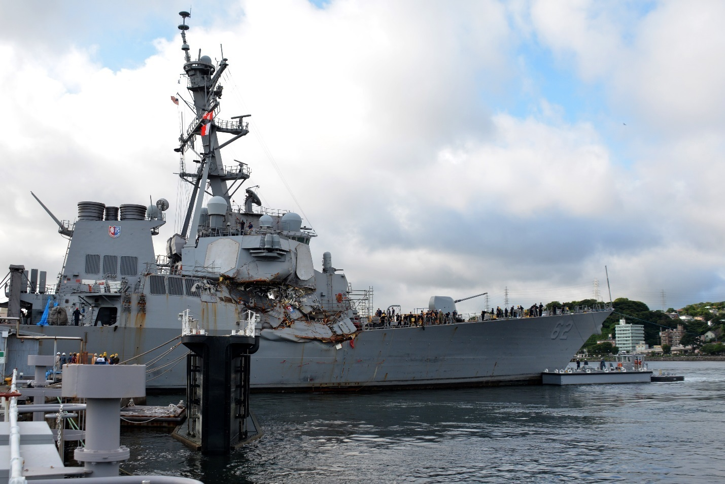 201f36ffabe8a Summary of Major Events Since Fatal USS Fitzgerald Collision - USNI News