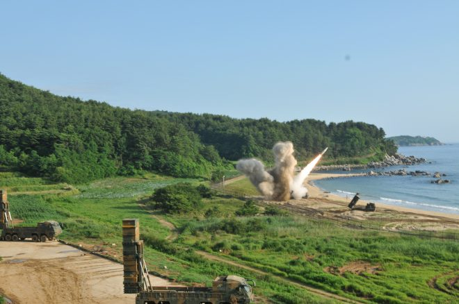 VIDEO: U.S., South Korea Fire Missiles in Show of Force Following North Korea ICBM Test