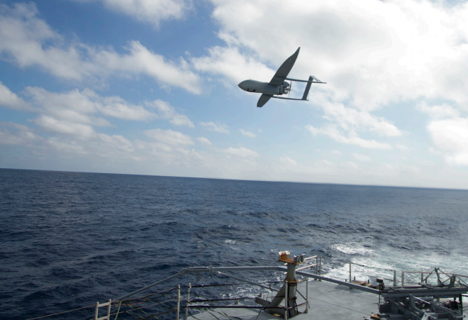 Textron's Aerosonde Small Unmanned Aerial Vehicle Eligible for Navy Sea-Based ISR