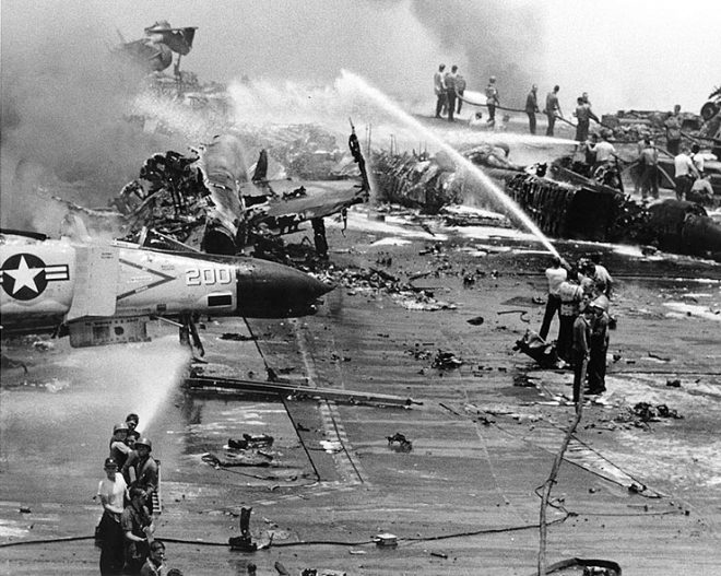 Trial by Fire: The Disaster on USS Forrestal at 50