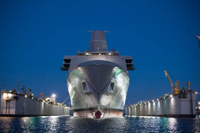 Amphib Portland Passes Acceptance Trials Ahead of Fall Delivery