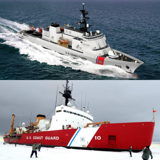 GAO: Coast Guard Needs to Present More Details on Icebreaker, Offshore Patrol Cutter Acquisition